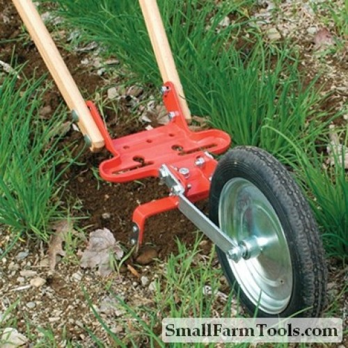 Glaser Wheel Hoe with 8 inch Hoe