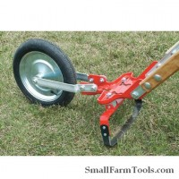 Glaser Wheel Hoe with 12 inch Hoe